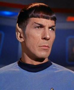 The one & only: Mr Spock